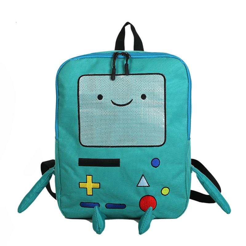حقيبة ظهر كرتونية يابانية وكوريا الجنوبية ، حقيبة مدرسية لطيفة وممتعة ، حقيبة طالب ، ستيريو ، سعة كبيرة ، للسفر