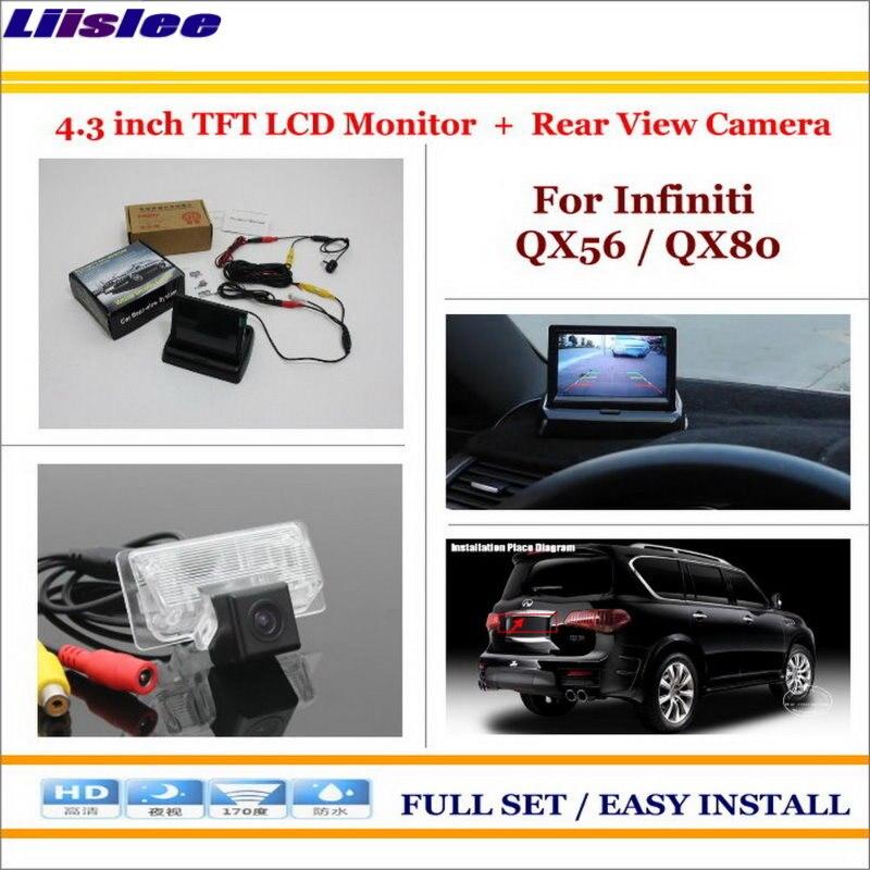 Автомобильная камера для Infiniti QX56/QX80, Автомобильная камера заднего вида, система парковки