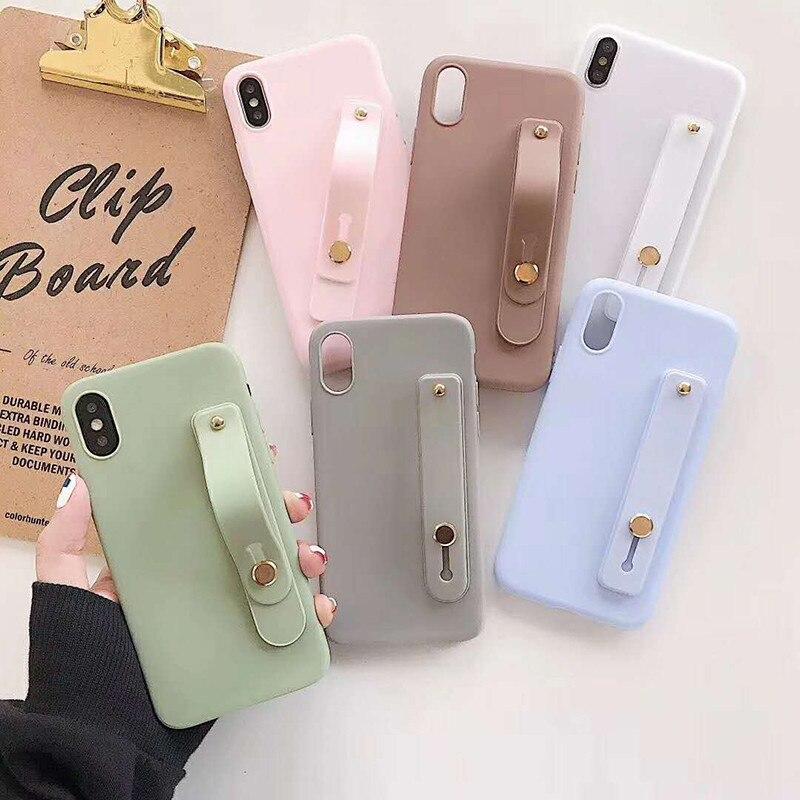 Pour Pocophone F1 bracelet bonbons étui de téléphone pour Xiaomi Redmi A1 A2 MIX 2 2S S2 Y2 Note 3 5 Plus 5X 6X 8 8SE Note 5Pro couverture arrière