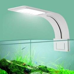Супертонкая Светодиодная лампа для аквариума, освещение растений, освещение для выращивания растений, 5 Вт/10 Вт/15 Вт, водное освещение для растений, водонепроницаемая лампа для аквариума