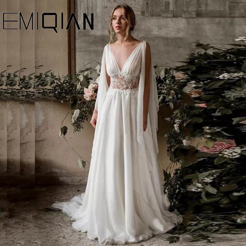 فستان زفاف بوهو ، فستان بوهو ، فستان زفاف يوناني قديم ، فستان زفاف ، فستان زفاف عاري الظهر