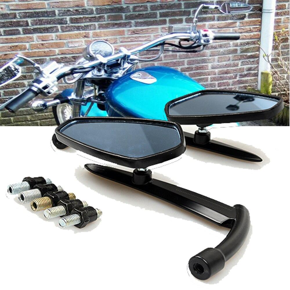 Espejos retrovisores universales ajustables para motocicleta para Honda CB 500F 1100 CTX1300 CG125 CB190R CBR 500R CBF 190R