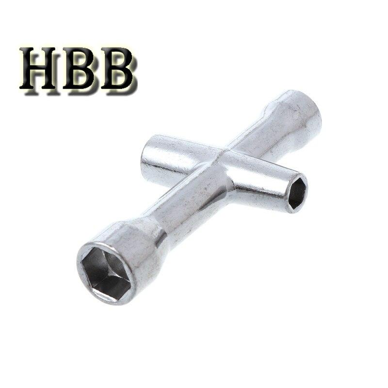 Accesorio de juguetes 4/5/5.5/7mm manga de llave cruzada para llave inglesa M4 RC HSP 80132 para herramienta de rueda de coche modelo