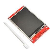 "240X320 2.8 ""Spi Tft Lcd Touch Panel Seriële Poort Module Met Pbc ILI9341 2.8 Inch Spi Seriële witte Led Display Met Touch Pen"