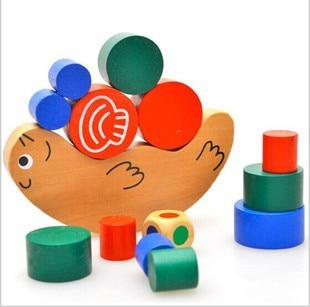 Snail Balance Blocks Parent-child Children Wooden Toys