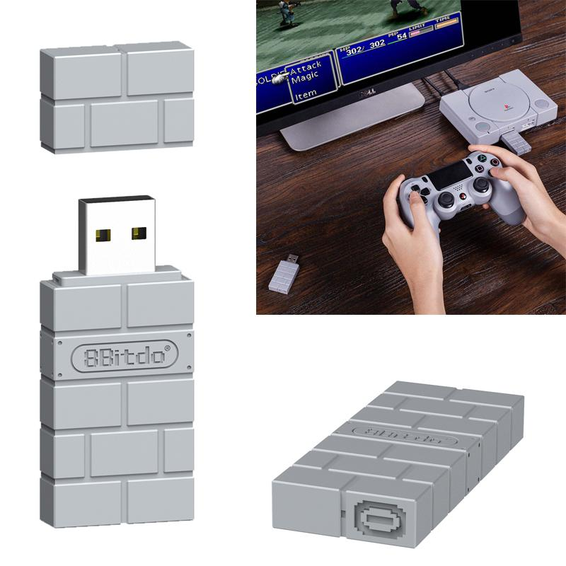 8Bitdo USB inalámbrico Bluetooth adaptador USB para Windows Mac portátil Gamepad receptor...