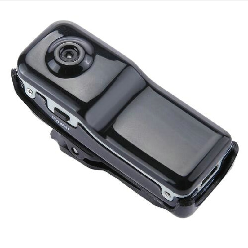 2017 MD80 Mini DV Camcorder DVR Video Camera Webcam Apoio 16 GB HD Cam Esportes Capacete Motociclo Câmera de Vídeo Audio gravador
