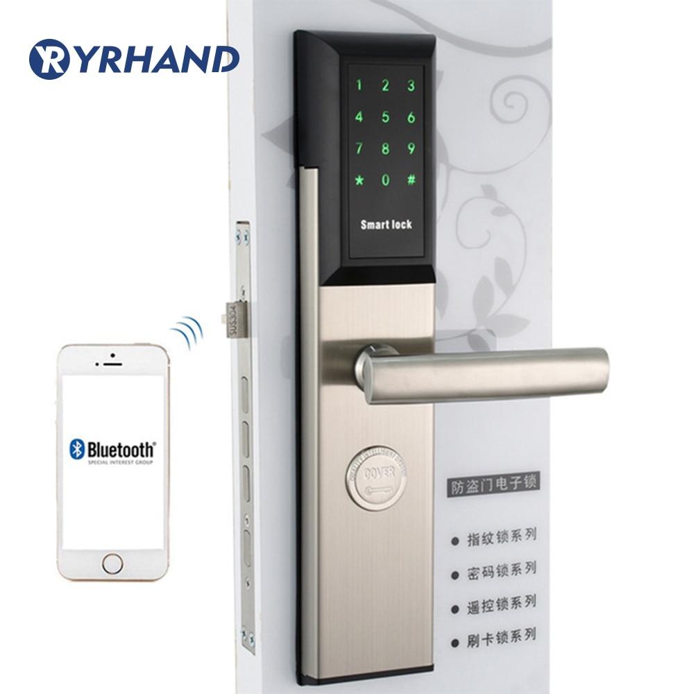 Get Wifi Smart Digital Safe Door Locks, Smart Home Lock password Pin Code Digital electronic Door Lock with TT lock App