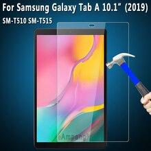 Ekran koruyucu temperli cam Samsung Galaxy Tab için bir 10.1 2019 SM-T515 SM-T510 T515 T510 Tablet koruyucu cam 9H HD 0.33