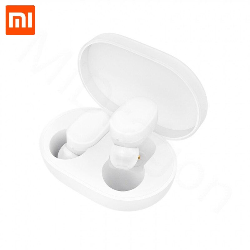 Xiaom MIjia TWS auriculares AirDots bluetooth Versión juvenil auriculares estéreo bajo BT 5,0 con micrófono auriculares manos libres Control AI