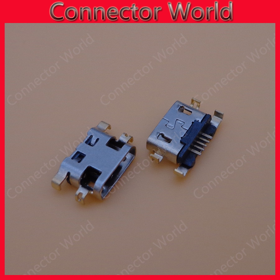 5 uds para asus zenfone 2 laser zd551kl ze500kl ze550kl ze600kl micro usb de carga de jack clavija de conexión del conector de puerto