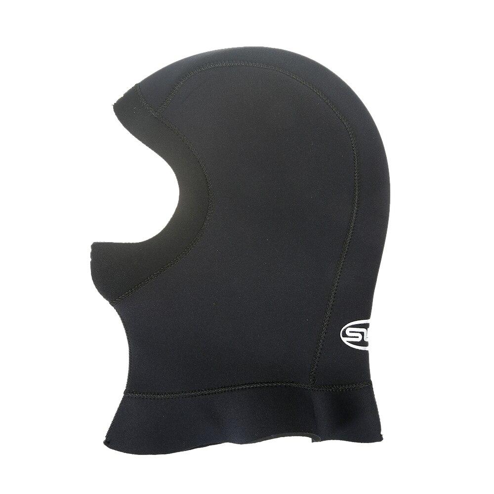 Capucha de buceo de neopreno de 3mm con hombro, equipo de snorkel, gorro, gorro de invierno, traje de buceo cálido, pesca submarina, cara completa