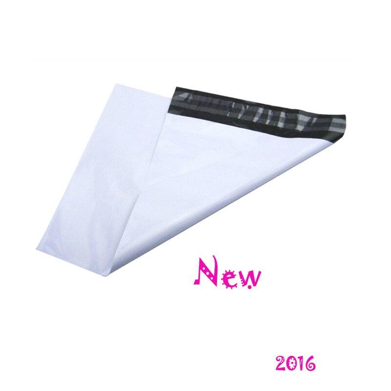 Bolsas autoadhesivas blancas de correo aéreo de tamaño pequeño 10X15.5cm 100 unids/lote bolsas de correo de plástico Express Courier Poly Mailing Plastic Express Bag