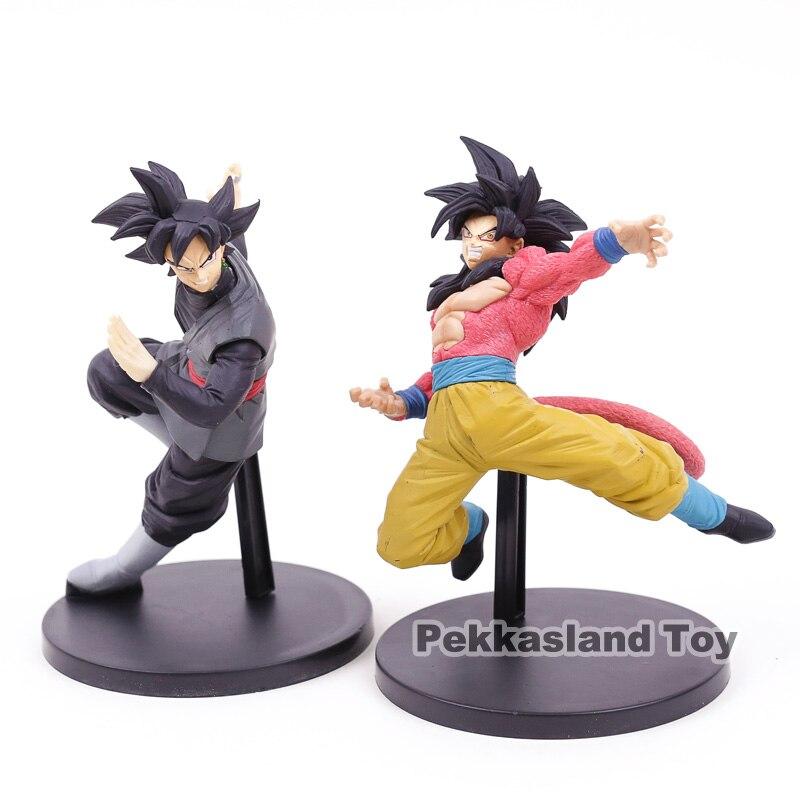 "¡Dragon Ball SUPER Son Goku FES! Goku negro Zamasu ""/Super Saiyan 4 Goku PVC figura de juguete de modelos coleccionables"