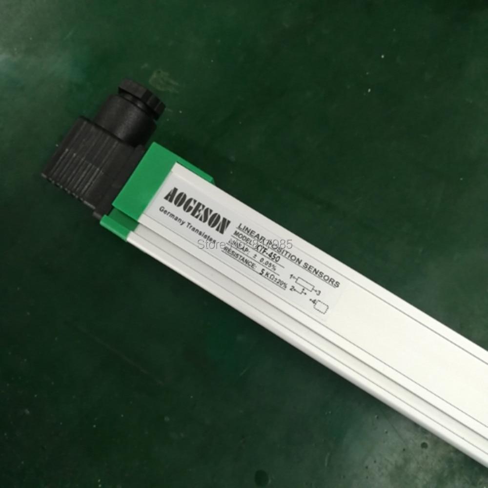 KTF слайдер линейный преобразователь/линейный датчик движения Линейный потенциометр для инжекционной машины