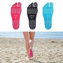 Открытый стикер обувь палка на подошве липкие прокладки для ног Пляжные Носки водонепроницаемые гипоаллергенные клейкие прокладки для ног
