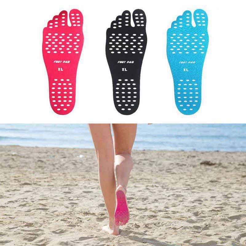 Etiqueta para exterior zapatos pegarse en las suelas almohadillas adhesivas para pies calcetín de playa almohadilla adhesivo hipoalergénico impermeable para pies