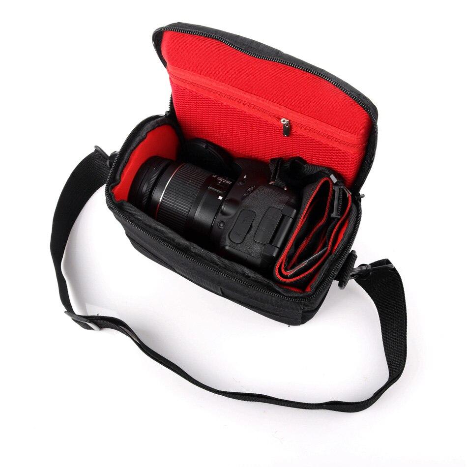Cámara resistente al agua bolsa funda para hombro para Sony Alpha A6500...