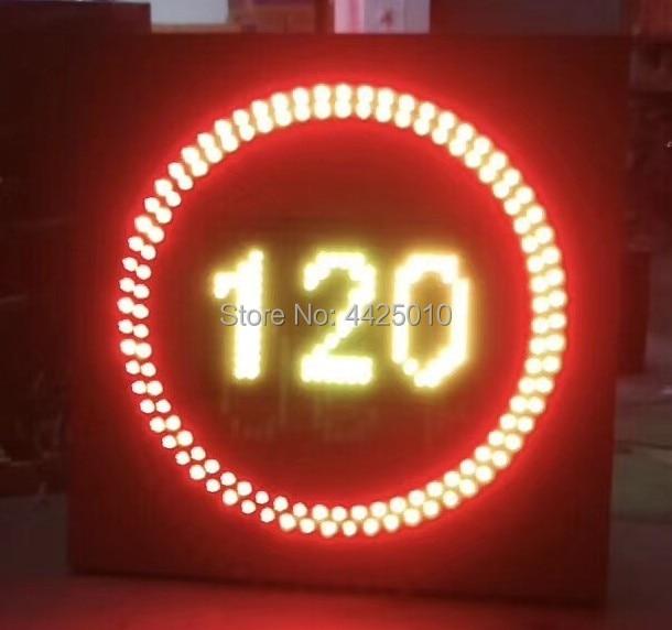 2018 الصين 30 إلى 120 ساعة/1 ساعة LED المرور سرعة الحد تسجيل LED الطريق سرعة الحد LED المرور لافتات ،