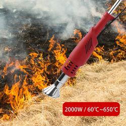 Queimador de erva daninha 2000 w elétrica cortador de grama weeder ferramenta elétrica queimador de erva daninha #40
