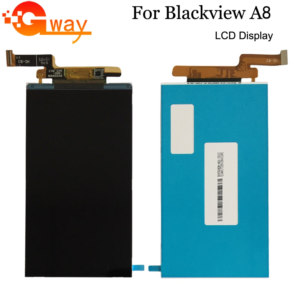 1280*720 For Blackview A8 LCD Display Screen Smartphone Accessories Mobile Phone LCDs Without Touch