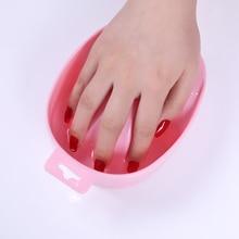 Tremper bol plateau de bain Nail Art acrylique UV Gel lavage à la main conseils de dissolvant outils de trempage
