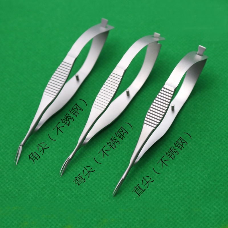Microscopic Instruments 8.5 cm Micro Scissors Inner Barrier Cut Quality Titanium Alloy Scissors Hand Membranous Envelo enlarge