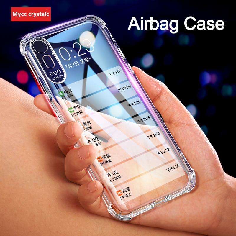 Para Huawei Honor 10i 9 20 20s 30s 20i 8 10 Lite 8A 8C 8X 8s 30 20 9X Pro Premium mundial 5G Airbag caso a prueba de golpes a prueba de la cubierta del TPU del