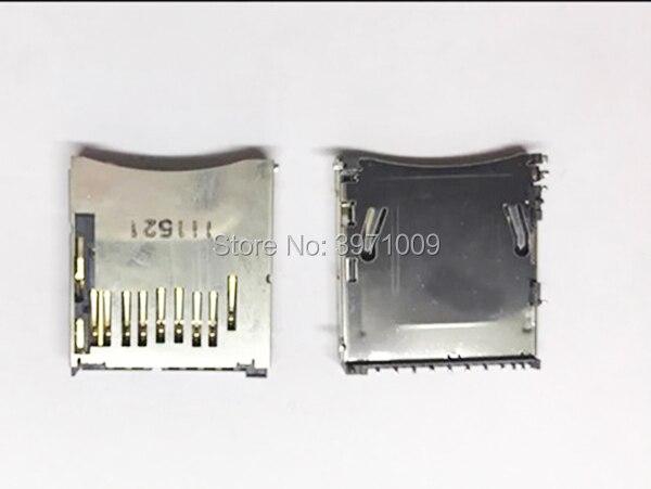95% nuevo SD ranura para tarjeta de memoria soporte para Nikon D90 D3100 D5000 D5100 D7000 cámara Digital SLR de reparación de la parte