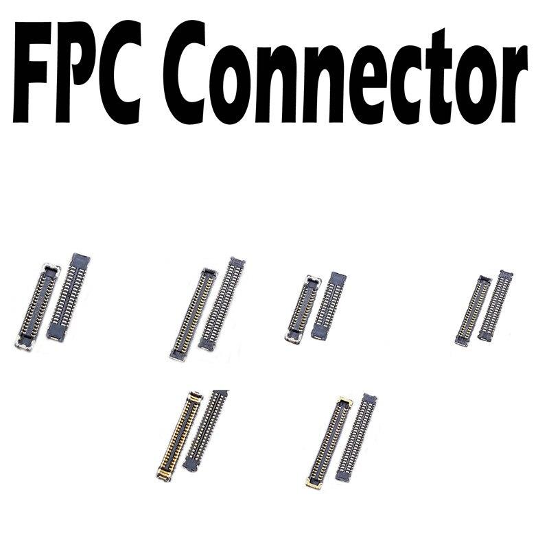 Сенсорный ЖК-дисплей FPC Разъем для iPhone 5 5G 5S 5C 6G 6S 6 Plus 6S Plus разъем платы дисплея на материнской плате