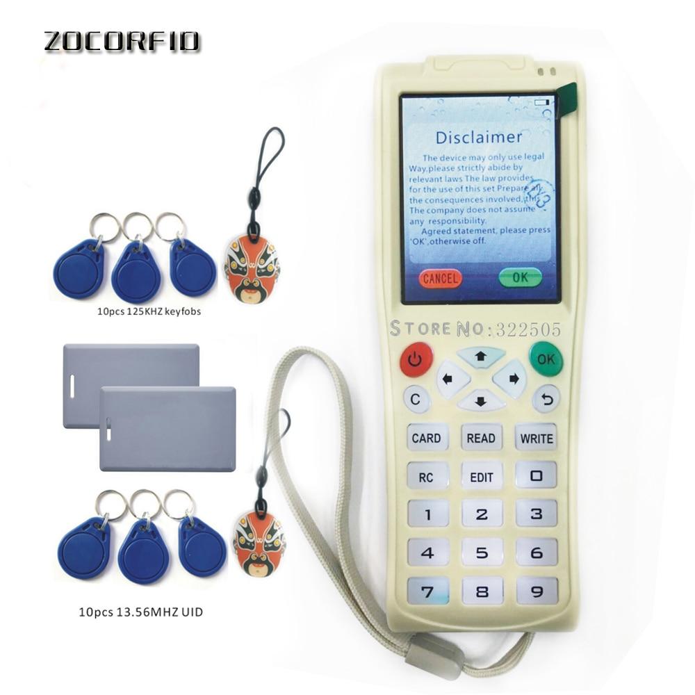Handheld Key copy Machine original i-Copy5 with Full sectors Decode Function NFC Card Key Machine RFID Copier +lithium battery