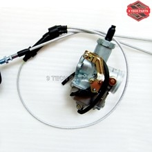 PZ30 30mm Vergaser Beschleunigung Pumpe Kabel Choke Carb + Dual gaszug Kit für ATV Dirt Bike Pit Quad 200cc 250cc