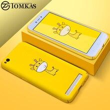 Funda TOMKAS con animales bonitos para Xiaomi Redmi 5A Note 5 5A 32G 64G funda dura para Redmi 5 5 Plus fundas Redmi Note 5 Pro Global