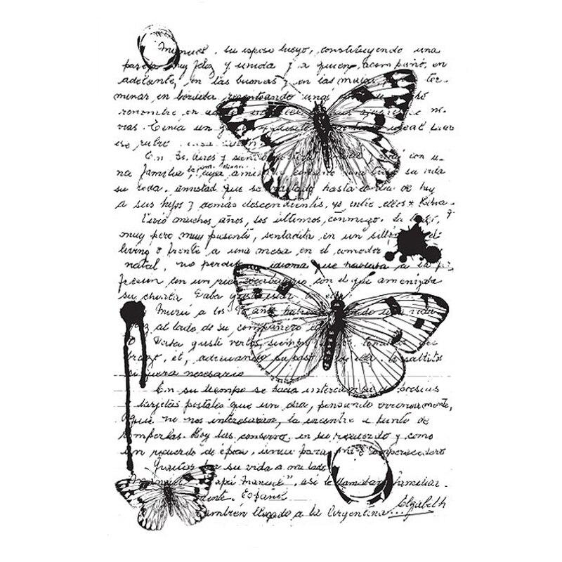 VYUTXA רקע ברור בולים Scrapbook נייר קרפט ברור חותמת רעיונות
