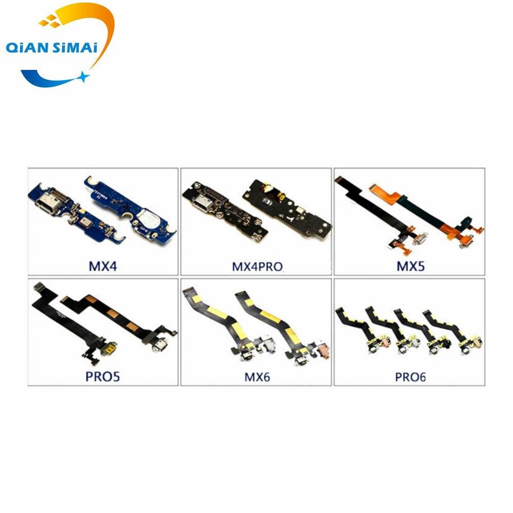 Nuevo cable flexible de carga Micro USB con reemplazo de micrófono para Meizu MX4 MX4Pro MX5 MX5Pro Pro5 MX6 MX6pro Pro6