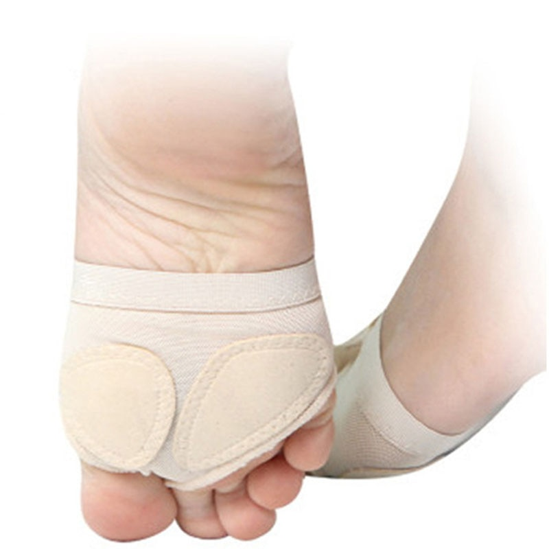 Gran oferta, 1 par de zapatillas de Ballet para niñas y mujeres, suela blanda dividida, pata de baile, pies, protección del medio ambiente