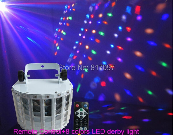 Nueva llegada 8 colores mariposa remoto LED iluminación luzes de led para...