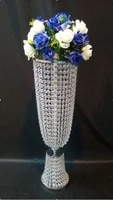 wedding arcrylic crystal table centerpiece 80cmh wedding flower vase wedding decoration 10pcslot