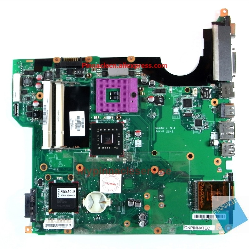 504642-001 placa base para HP DV5 DV5-1000 DAQT6MB6D0
