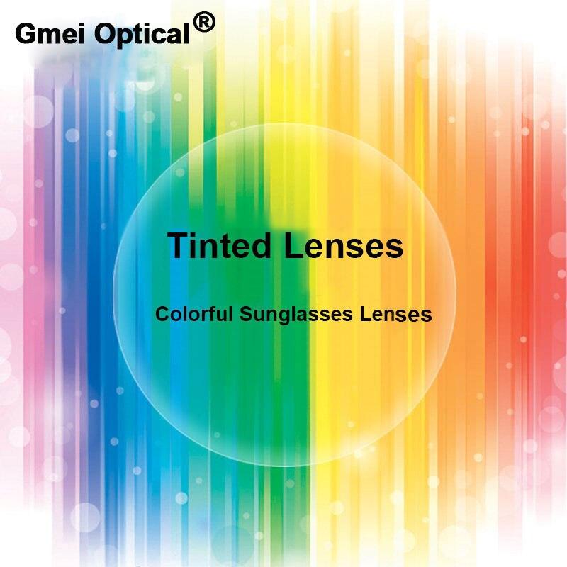 Chegada nova Contra As 1.56 Índice Padrão Tingimento Tinted HMC EMI Anti UV Para