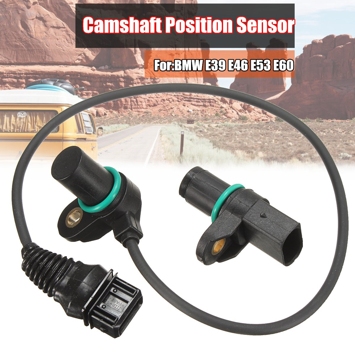Árbol de levas Sensor de posición admisión y escape para BMW E39 E46 E53 E60 12141438081