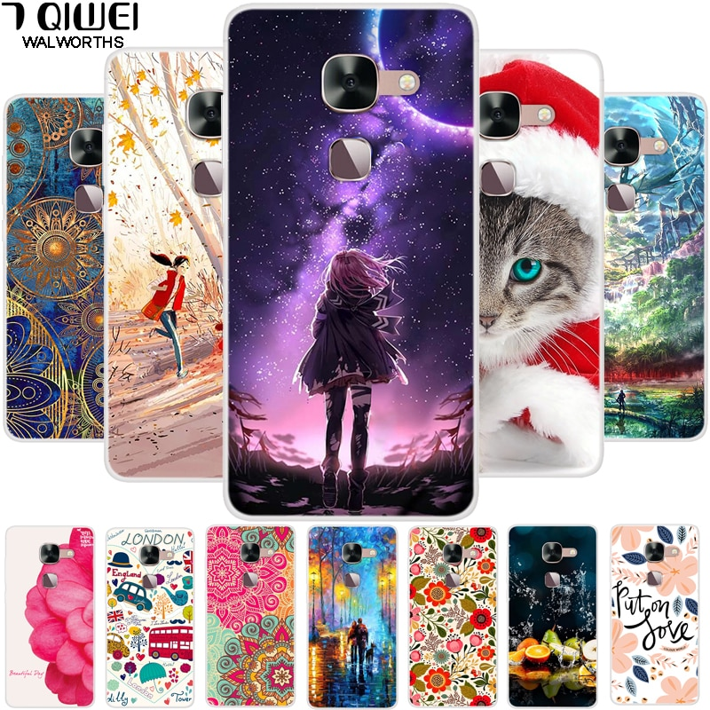 Case Leeco Le 2 X527 Cover Soft TPU Fashion Phone Cases For Letv Leeco Le S3 Case X626 X526 Coques L