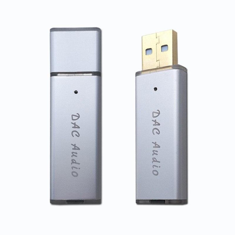 USB Mini Portable DAC Decoder Ear-Amplifier HIFI Fever External Sound-Card SA9023A+ES9018K2M