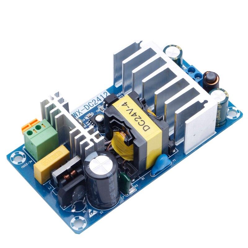 Módulo de fuente de alimentación AC-DC de 100W 6A Placa de alimentación conmutada AC 110v 220v a DC 24V Wholesale-M33 de soporte
