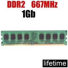 Mémoire DIMM DDR2 667 1 Gb RAM 8Gb 4Gb 2Gb DDR 1 Gb/pour PC RAM 1 Gb ddr2 667MHz 4G 2G 1G 533MHZ 800 533 (pour intel & pour amd)