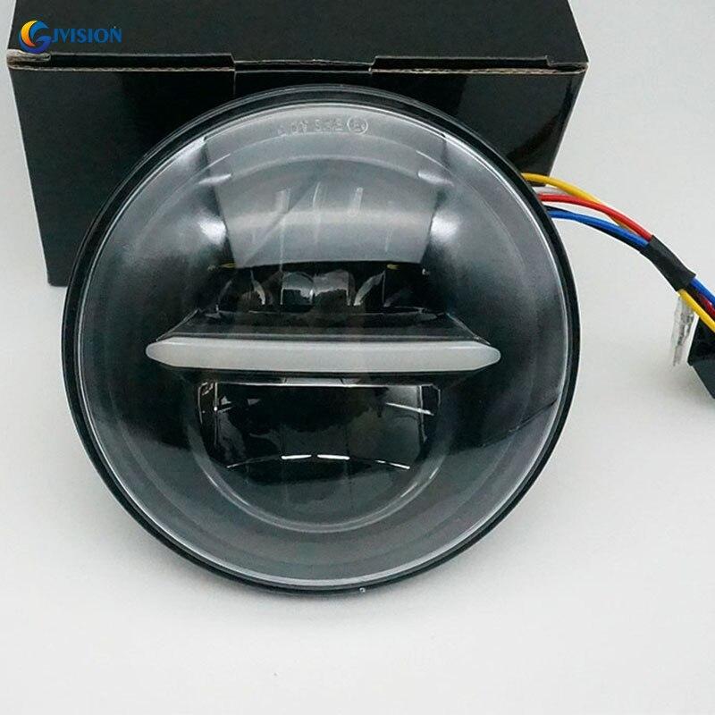 5,75 дюймовый светодиодный налобный фонарь, фасветильник дальнего света с ДХО для H-arley Sportster 883 Dyna, уличный светильник, ночная сорочка