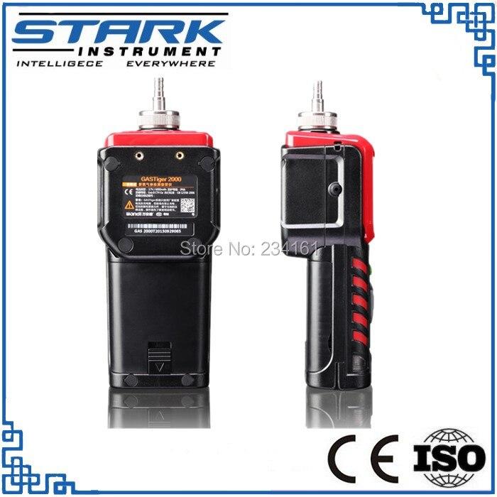 Detector de gas propano portátil, dimetilmetano analizador de gas, detector de gas portátil C3H8