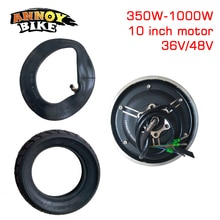 10 inch 36v48v350w-1000wmotor 진공 타이어 변환 키트 전기 스쿠터 tx 모터 부품 수정 된 diy 휠 brushless ly 모터