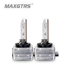 Dernière 12V 35W D1S D1C D3S AC HID xénon ampoule voiture phare Original DRL lampe remplacement 4300k 6000k 8000k voiture lumière Sourcing