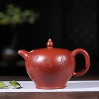 yixing recommended pure manual famous fan zehong authentic teapot undressed ore dahongpao dingzhu pot of suits